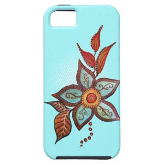 Boho Blue iPhone 5 Covers