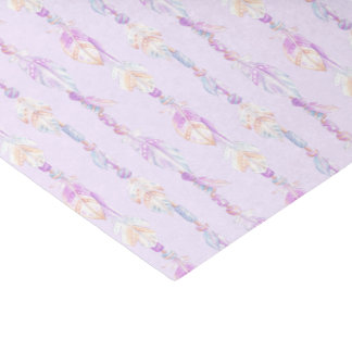 Boho Bohemian watercolor purple tissue paper