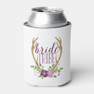 Boho Bride Tribe Can Cooler