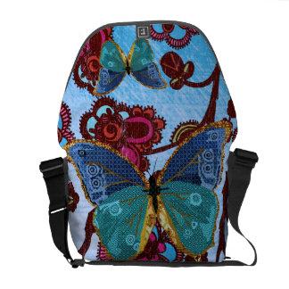 Boho Butterfly  Messenger Bag