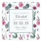 Boho Cactus, Succulent & Floral - Bridesmaid Card