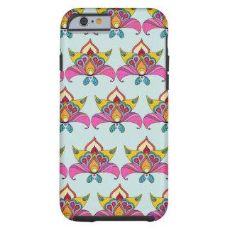 Boho Chic Design Tough iPhone 6 Case