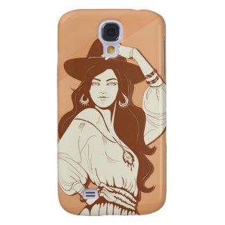 Boho Chic fashionista Galaxy S4 Case