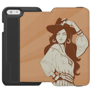 Boho Chic fashionista Incipio Watson™ iPhone 6 Wallet Case
