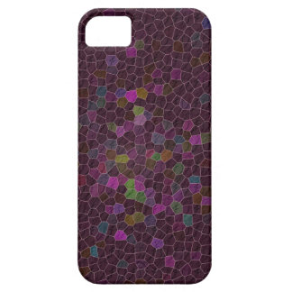 Boho Cranberry Quilted Tile Ethnic Graphic iPhone 5 Cover
