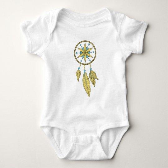 Boho Dream Catcher Baby Bodysuit