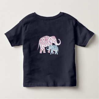 Boho Elephants , MOM and Me matching Toddler T-Shirt