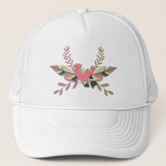 Boho Floral Heart | Trucker Hat