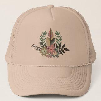 Boho Floral   Trucker Hat