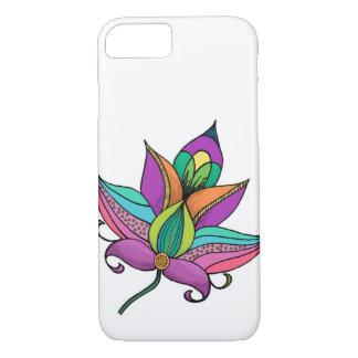 Boho Flower Design iPhone 7 Case