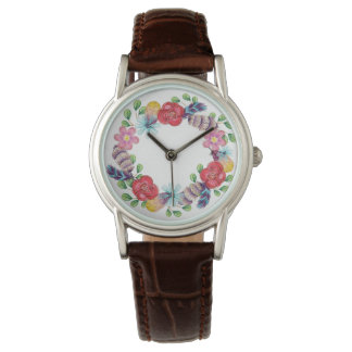 Boho Flower Wreath | Watch