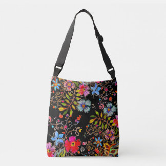 Boho Garden Crossbody Bag