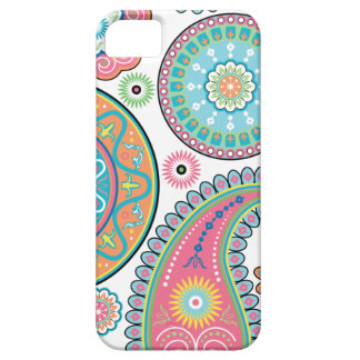 Boho Girl Paisley Multicolor Iphone 5 iPhone 5 Cases