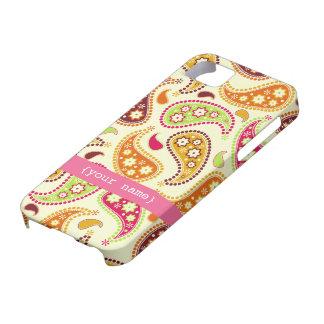 Boho Paisley iPhone 5 Case