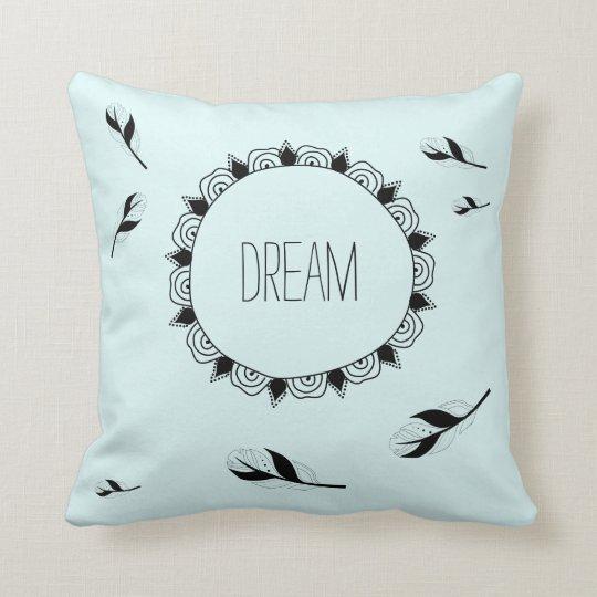 Boho Pastel Blue with black doodle style images