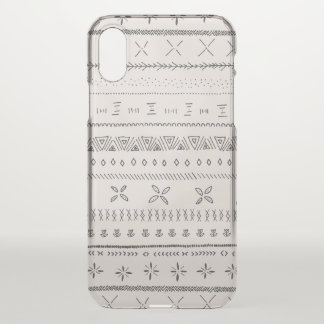 Boho Print iPhone X Case