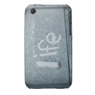 Boho Rustic Blue Inspirational Life iPhone 3 Cases