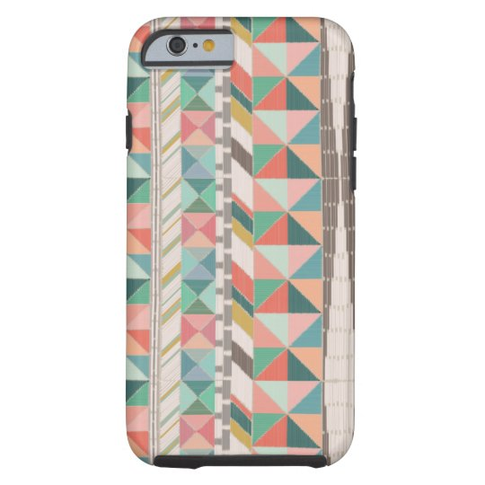 Boho Tapestry Stripe Tough iPhone 6 Case