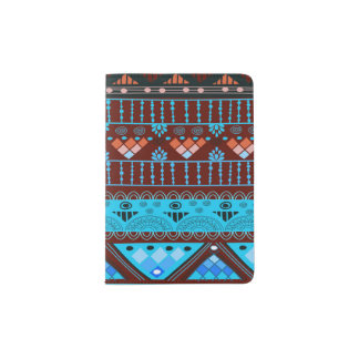 boho travel passport holder