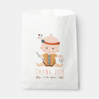 Boho Tribal Baby Shower Favor Bags Favour Bags