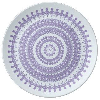 Boho Tribal Folk Nature Gypsy Circle Hippy Pixie Plate