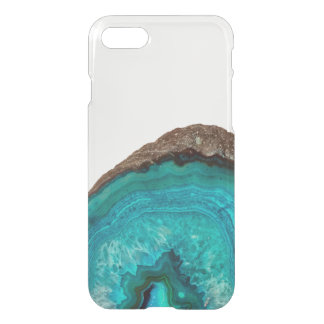 Boho Turquoise Geode iPhone 8/7 Case
