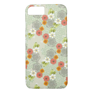 Boho Vintage Flowers iPhone 7 Case
