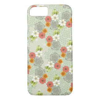Boho Vintage Flowers iPhone 7 Case