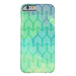 Boho Watercolor Arrows Geometric Pattern Barely There iPhone 6 Case