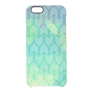 Boho Watercolor Arrows Geometric Pattern Clear iPhone 6/6S Case