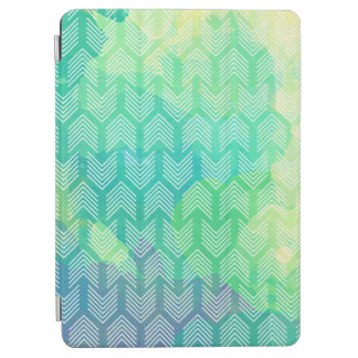 Boho Watercolor Arrows Geometric Pattern iPad Air Cover