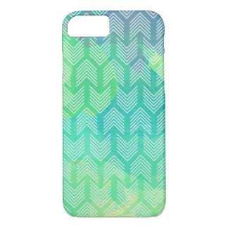Boho Watercolor Arrows Geometric Pattern iPhone 8/7 Case
