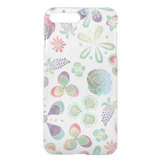 Boho Watercolor Floral iPhone 7 Plus Case