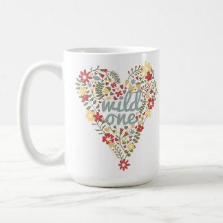Boho Wild One Heart Mug