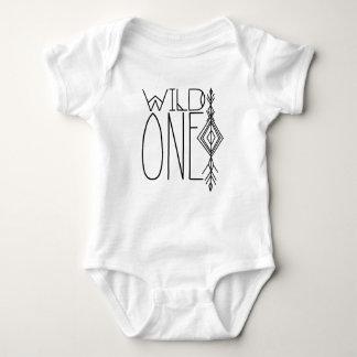 Boho Wild One | Tribal Baby Bodysuit