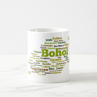 Bohol Geographic Wordcloud mosquito Coffee Mug
