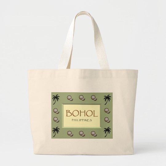 BOHOL Philippines Jumbo Tote Bag