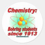Bohr Atom Round Sticker
