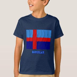 Bohuslän waving flag with name (unofficial) T-Shirt