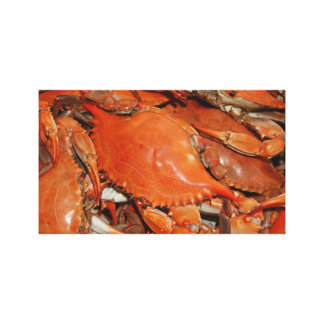 Boiled Crabs - Louisiana Canvas Prints