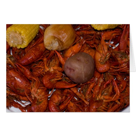 boiled crawfish card