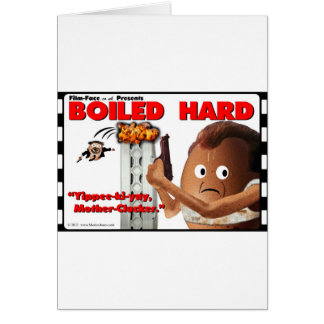 BOILED HARD Film-Face Funny spoof DIE HARD Card