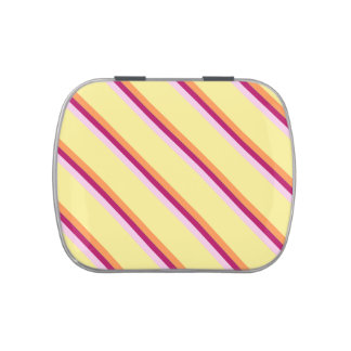 Boiled Lolly stripes Candy Tin