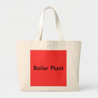 Boiler Plant Large Tote Bag