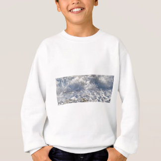 Boiling sea (Sennen beach nr Lands End) Sweatshirt