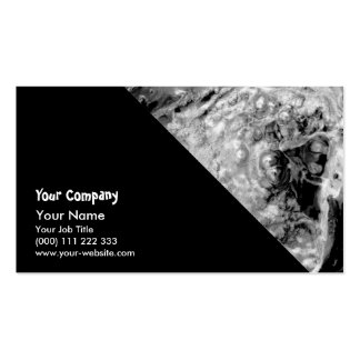 Boiling thermal water business card templates