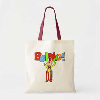 Boing Clown Tote Bag