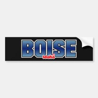 Boise Bumper Car Bumper Sticker