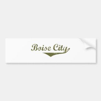Boise City Revolution tee shirts Car Bumper Sticker