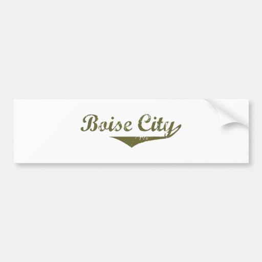 Boise City Revolution tee shirts Bumper Stickers